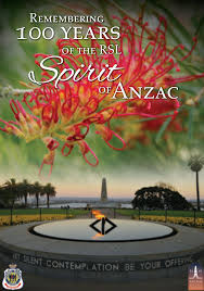 spirit of Anzac label